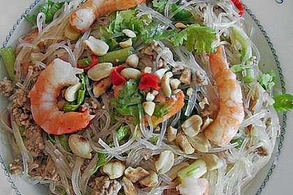 Thai-Glasnudelsalat - Yam Woon Sen 14