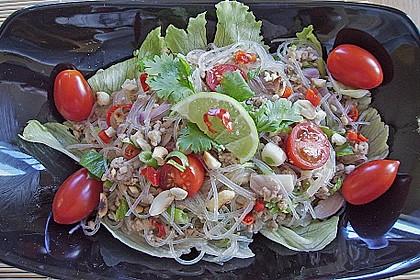 Thai-Glasnudelsalat - Yam Woon Sen 13