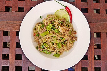 Thai-Glasnudelsalat - Yam Woon Sen 8