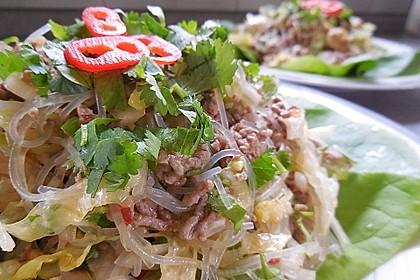 Thai-Glasnudelsalat - Yam Woon Sen 4