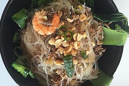 Thai-Glasnudelsalat - Yam Woon Sen 11