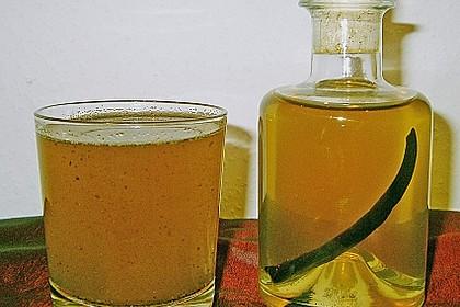 Vanille - Likör mit Honig 4