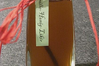 Vanille - Likör mit Honig 6