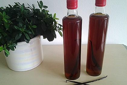Vanille - Likör mit Honig 7