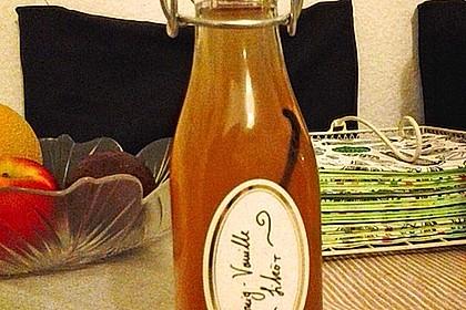 Vanille - Likör mit Honig 3
