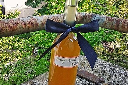 Vanille - Likör mit Honig 1