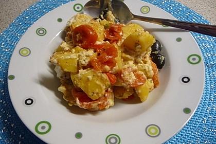 Griechische Kartoffelpfanne 2