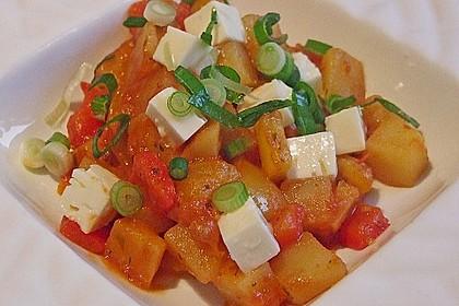 Griechische Kartoffelpfanne