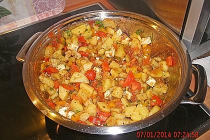 Griechische Kartoffelpfanne 3