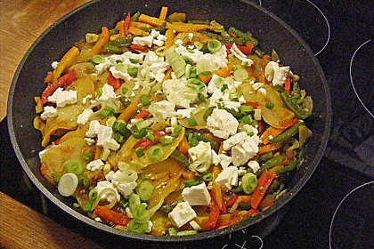 Griechische Kartoffelpfanne 1