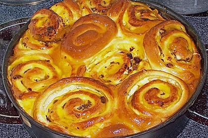 Puddingschnecken - Kuchen 11