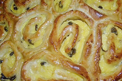 Puddingschnecken - Kuchen 19