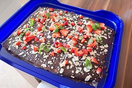 Schokoladentraum-Blechkuchen (Bild)