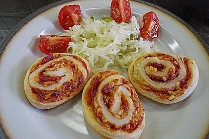 Pizzaschnecken 1