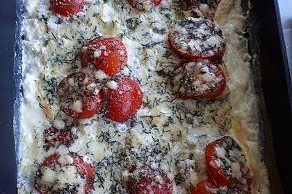 Seelachsfilet auf Zucchinibett