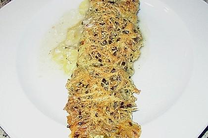 Seelachsfilet auf Zucchinibett 27