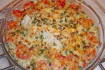 Seelachsfilet auf Zucchinibett 16