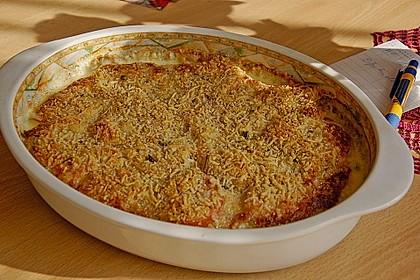 Seelachsfilet auf Zucchinibett 17