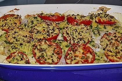 Seelachsfilet auf Zucchinibett 13
