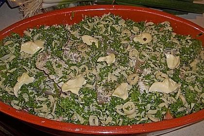 Seelachsfilet auf Zucchinibett 39