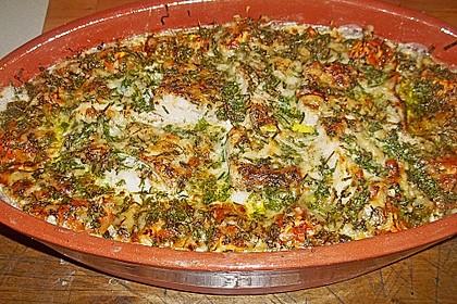 Seelachsfilet auf Zucchinibett 21