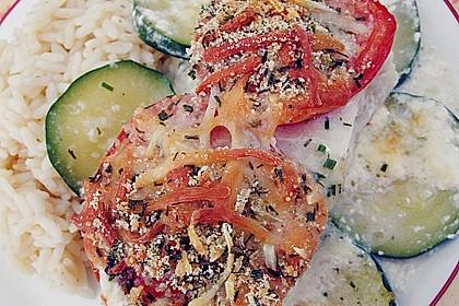 Seelachsfilet auf Zucchinibett 10
