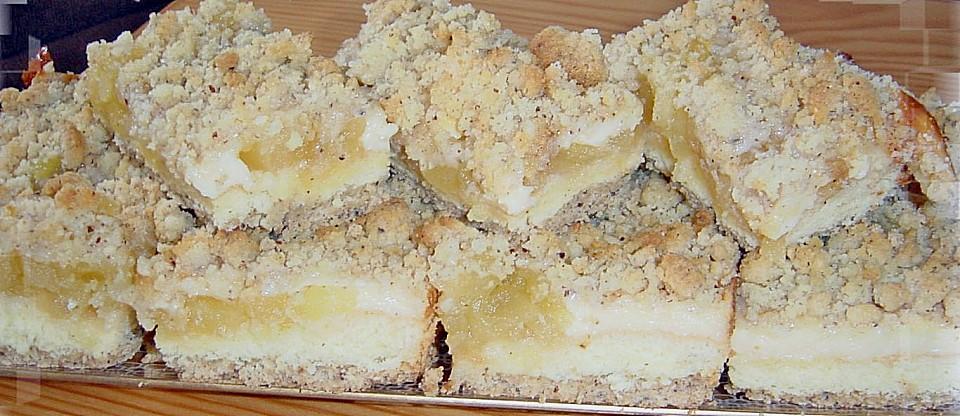 Pudding Apfel Kuchen Von Bloody Squirrel Chefkoch De
