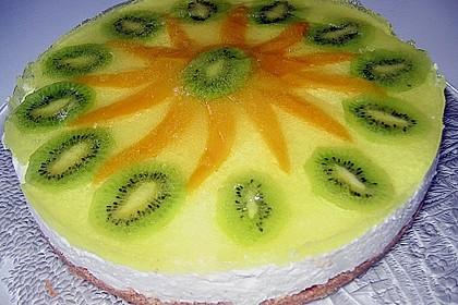 Zitronen - Frischkäse - Torte 2