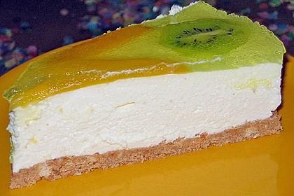 Zitronen - Frischkäse - Torte 3