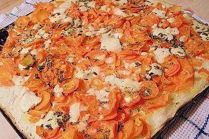 Möhren - Quiche mit Gorgonzola 2