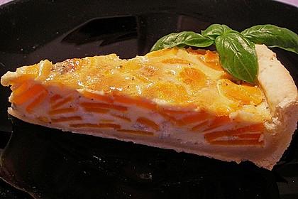 Möhren - Quiche mit Gorgonzola