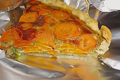 Möhren - Quiche mit Gorgonzola 5