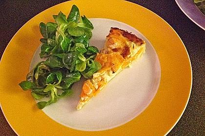 Möhren - Quiche mit Gorgonzola 10