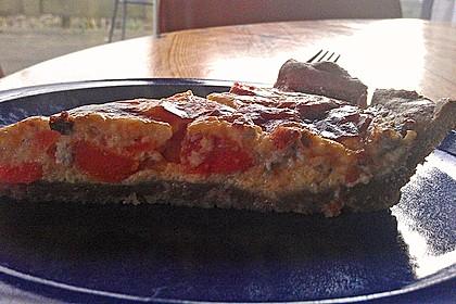 Möhren - Quiche mit Gorgonzola 18