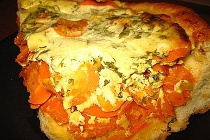 Möhren - Quiche mit Gorgonzola 15