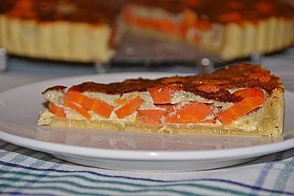 Möhren - Quiche mit Gorgonzola 8