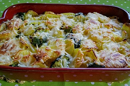 Blumenkohl - Brokkoli - Auflauf 11