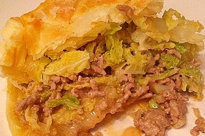 Wirsing - Hackfleisch - Pastete 16