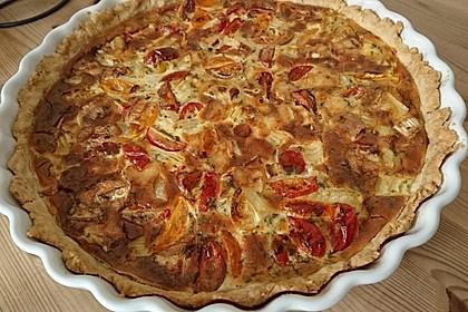 Leichte Tomatentarte mit Camembert 34