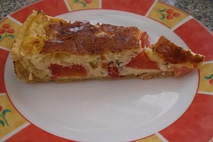 Leichte Tomatentarte mit Camembert 101