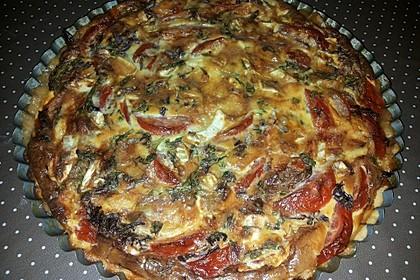 Leichte Tomatentarte mit Camembert 67