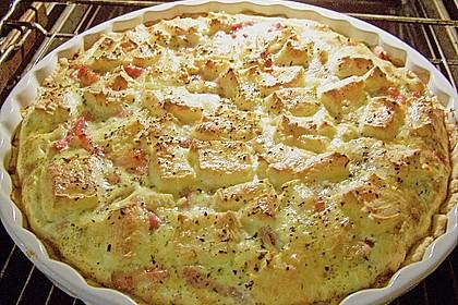 Leichte Tomatentarte mit Camembert 18