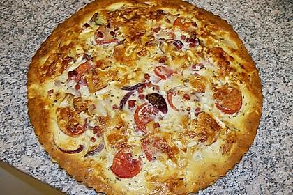 Leichte Tomatentarte mit Camembert 41