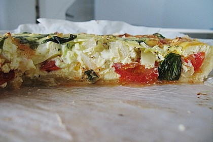 Leichte Tomatentarte mit Camembert 39