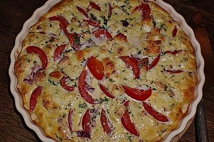 Leichte Tomatentarte mit Camembert 13