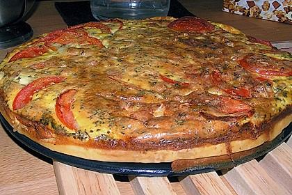 Leichte Tomatentarte mit Camembert 56