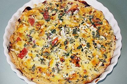 Leichte Tomatentarte mit Camembert 19