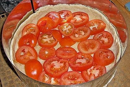 Leichte Tomatentarte mit Camembert 102