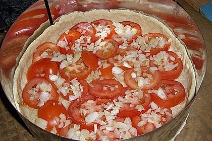 Leichte Tomatentarte mit Camembert 92