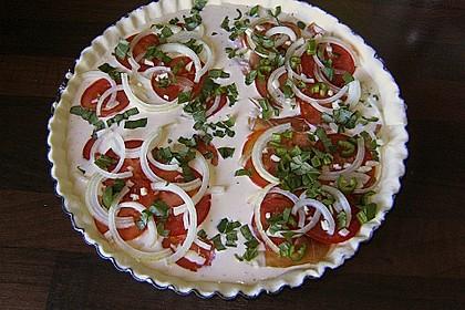 Leichte Tomatentarte mit Camembert 50